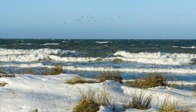 Reizvoll: Winter an der Küste